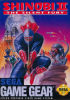 Shinobi II - The Silent Fury Sega Game Gear cover artwork