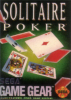 Solitaire Poker Sega Game Gear cover artwork