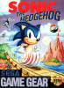 Sonic The Hedgehog Sega Game Gear cover artwork