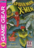 Spider-Man and the X-Men in Arcade's Revenge Sega Game Gear cover artwork