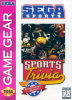 Sports Trivia - Championship Edition Sega Game Gear cover artwork