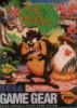 Taz-Mania - The Search for the Lost Seabirds Sega Game Gear cover artwork