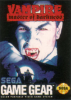 Vampire - Master of Darkness Sega Game Gear cover artwork