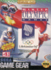 Winter Olympics - Lillehammer '94 Sega Game Gear cover artwork