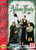 Addams Family, The Sega Genesis cover artwork