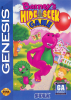 Barney's Hide & Seek Game Sega Genesis cover artwork