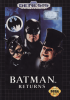 Batman Returns Sega Genesis cover artwork