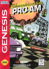 Championship Pro-Am Sega Genesis cover artwork