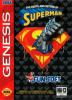 Death and Return of Superman, The Sega Genesis cover artwork