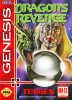 Dragon's Revenge Sega Genesis cover artwork