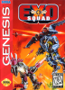 Exo Squad Sega Genesis cover artwork