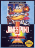 James Pond 2 - Codename Robocod Sega Genesis cover artwork