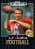 Joe Montana Football Sega Genesis cover artwork