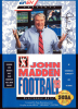 John Madden Football '93 Sega Genesis cover artwork