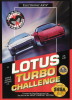 Lotus Turbo Challenge Sega Genesis cover artwork