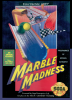 Marble Madness Sega Genesis cover artwork