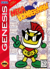 Mega Bomberman Sega Genesis cover artwork