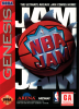 NBA Jam Sega Genesis cover artwork