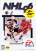 NHL 96 Sega Genesis cover artwork