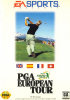 PGA European Tour Sega Genesis cover artwork