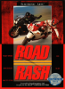 Road Rash Sega Genesis cover artwork
