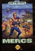 Mercs Sega Genesis cover artwork