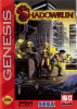 Shadowrun Sega Genesis cover artwork