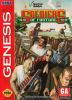Soldiers of Fortune Sega Genesis cover artwork