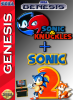 Sonic & Knuckles + Sonic The Hedgehog 2 Sega Genesis cover artwork