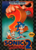 Sonic The Hedgehog 2 Sega Genesis cover artwork