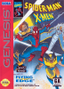Spider-Man and X-Men - Arcade's Revenge Sega Genesis cover artwork