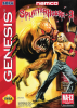 Splatterhouse 3 Sega Genesis cover artwork