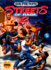 Streets of Rage 2 Sega Genesis cover artwork