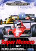 Super Monaco GP Sega Genesis cover artwork