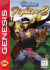 Virtua Fighter 2 Sega Genesis cover artwork