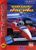 Virtua Racing Sega Genesis cover artwork