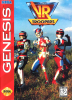VR Troopers Sega Genesis cover artwork