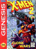X-Men 2 - Clone Wars Sega Genesis cover artwork