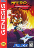 Zero the Kamikaze Squirrel Sega Genesis cover artwork