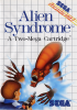 Alien Syndrome Sega Master System cover artwork
