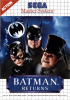 Batman Returns Sega Master System cover artwork