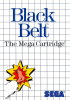 Black Belt Sega Master System cover artwork