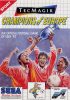 Champions of Europe Sega Master System cover artwork