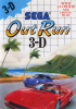 Out Run 3-D Sega Master System cover artwork