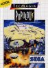Populous Sega Master System cover artwork