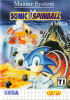 Sonic Spinball Sega Master System cover artwork