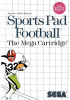 Sports Pad Football Sega Master System cover artwork