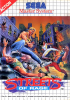 Streets of Rage Sega Master System cover artwork