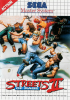 Streets of Rage II Sega Master System cover artwork