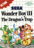 Wonder Boy III - The Dragon's Trap Sega Master System cover artwork